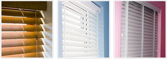 Inside recess window for blinds